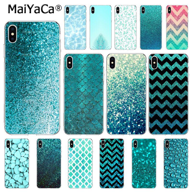 aqua iphone 8 case