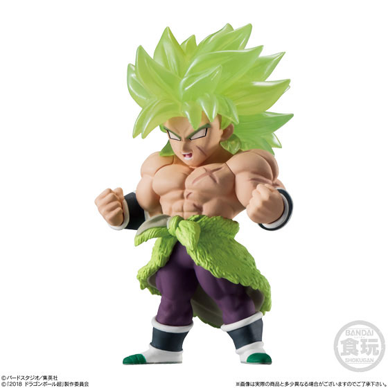 "100% Original BANDAI ADVERGE 09 Toy Figure – Full Set of 6 Pcs Broly Son Goku Vegeta Gogeta Raditz ""Dragon Ball SUPER: Broly"""