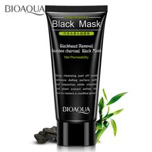 2018 Promotion Limited Unisex Bioaqua Deep Cleansing Purifying Peel Off Mud Blackhead Face Mask Black Skin Care Free Shipping