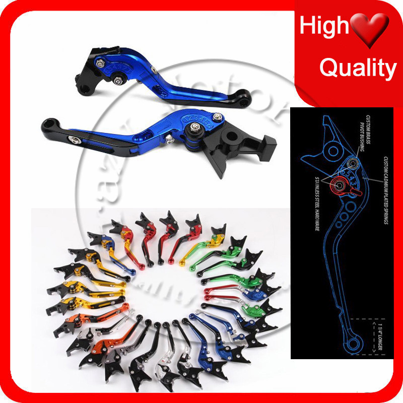 6 Color 2015 Limited Time-limited for Suzuki Gsxr1300 Gsf Gsx Adjustable Folding Extendable Brake Clutch Levers Motorcycle free shipping xc3020 70p84c new original and goods in stock