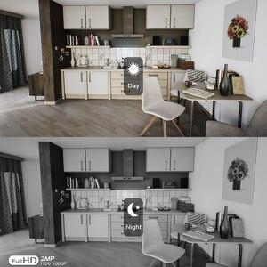 Image 5 - 1080P 무선 태양 카메라 와이파이 충전식 배터리 IP 카메라 HD 야외 보안 감시 CCTV 카메라 PIR 모션 센서