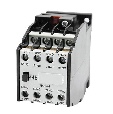 цена на Coil 380V 50Hz 4NO + 4NC Auxiliary Contactor Relay JZC1-44