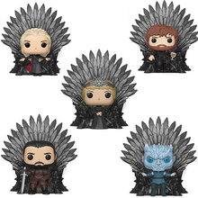 FUNKO POP Game of Thrones Jon Snow Daenerys Tyrion Night King Cersei Iron Throne Action Figure Toys for Children Christmas Gift(China)