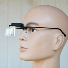 Magnifier Headband Magnifying Glass Eye Repair 1.5/2.5/3.5 Glasses Loupe Optical Lens