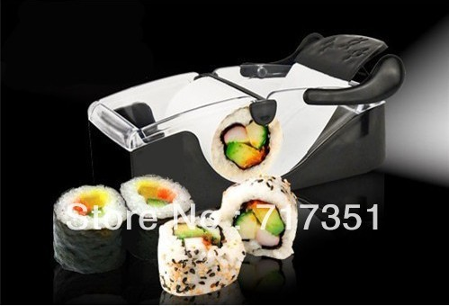 Easy Sushi Maker Roller equipment, perfect roll, Roll-Sushi with color box ,1pcs/set.kitchen accessories K1008