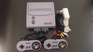 TV Video Game Console for S-n-e-s 16 Bit Games with 101 In 1 SNES Game Cartridge (24 games can battery save)