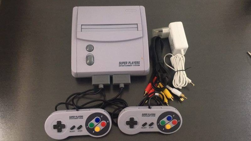 US $57 0 |TV Video Game Console for Snes 16 Bit Games with 101 In 1 SNES  Game Cartridge (24 games can battery save)-in Video Game Consoles from
