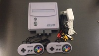 TV Video Game Console for Snes 16 Bit Games with 101 In 1 SNES Game Cartridge (24 games can battery save)