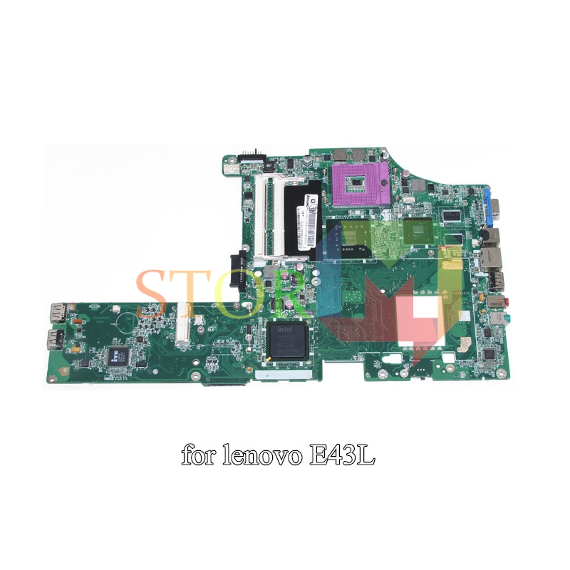 NOKOTION for lenovo E43 E43L laptop motherboard DALE9EMB8D0 PM45 DDR3 Quadro NVS 3100M nokotion fru 63y1878 48 4cu06 031 laptop motherboard for lenovo thinkpad t510 qm57 quadro nvs 3100m board mainboard