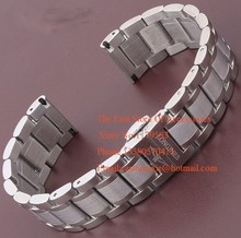 Metal Watchband With Silver Deployment 18mm 19mm 20mm 21mmSilver and Gold For men Watches Hours Brand