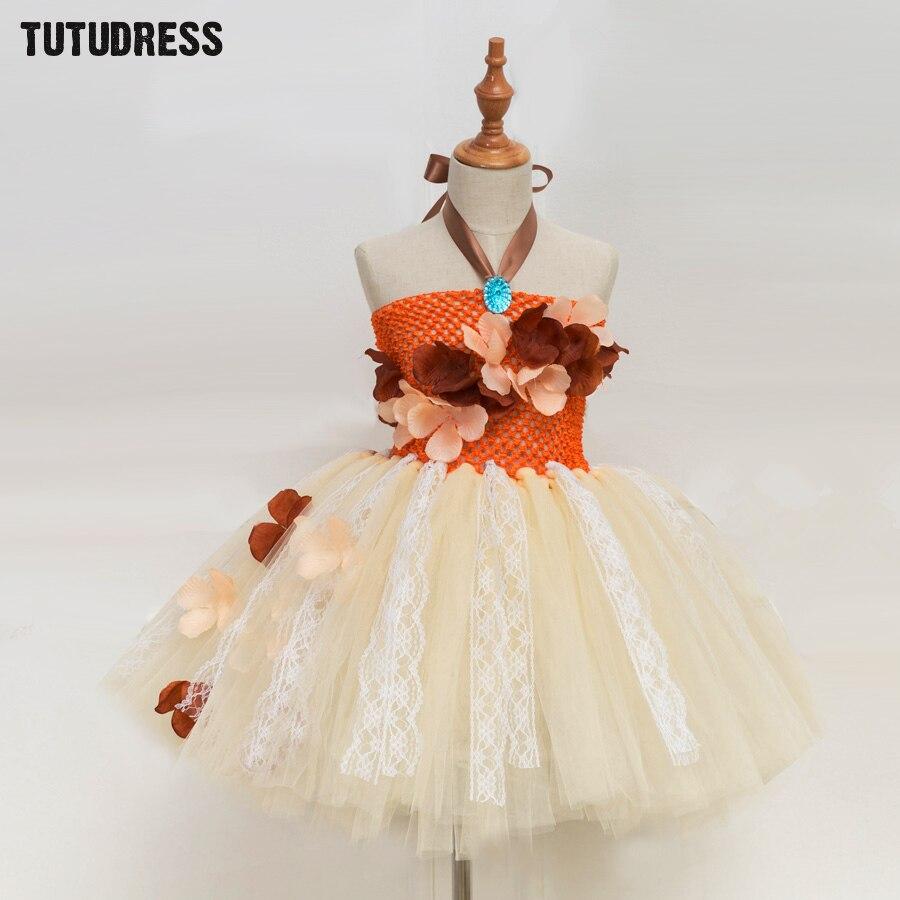 Prinzessin Moana Tutu Kleid Für Mädchen Geburtstag Party Dress Up ...