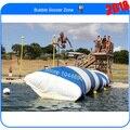 Frete grátis e 0.9 mm lona de PVC 8 m * 3 m blob água inflável / lago blob ( bomba livre + kits de reparação )