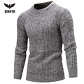 Sweater Men 2017 Brand Pullovers Casual Sweater Male O-Neck Multi-Color Slim Fit Knitting Mens Sweaters  Man Pullover Men XXL DX