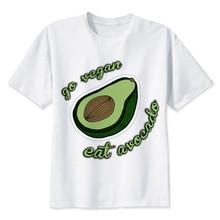 """Go Vegan, Eat Avocado"" men's t-shirt"