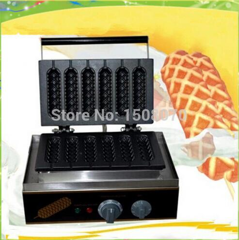 6 pieces muffin hot dog machine | lolly waffle maker free shipping