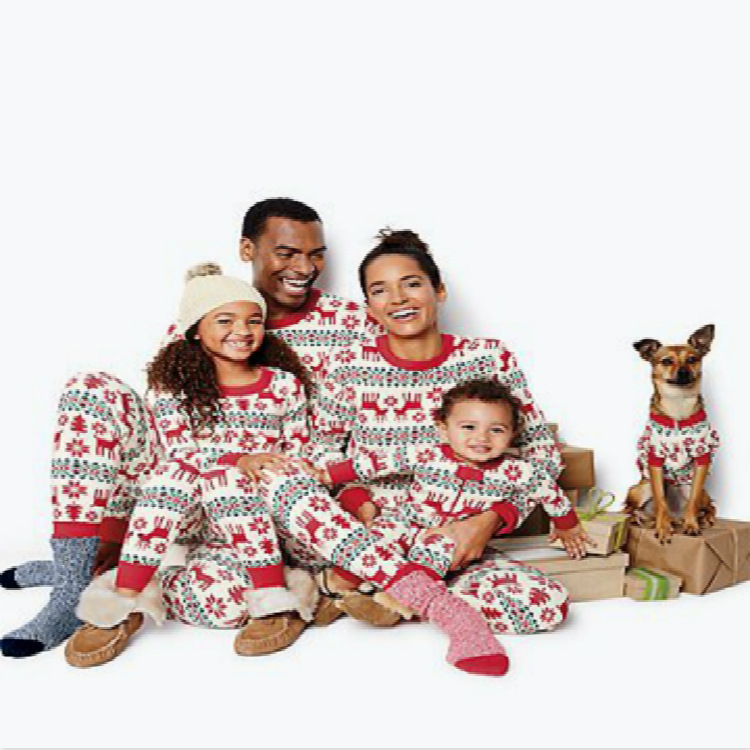 Cheap Matching Family Christmas Pajamas