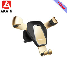 Arvin Car Phone Holder For iPhone X XR XS Samsung S9 Gravity Air Vent Mount Stand Universal Mobile Phone Bracket Support In Car arvin wireless charger car phone holder for iphone 8 x xr xs max samsung s9 universal gravity fast wireless air vent mount stand