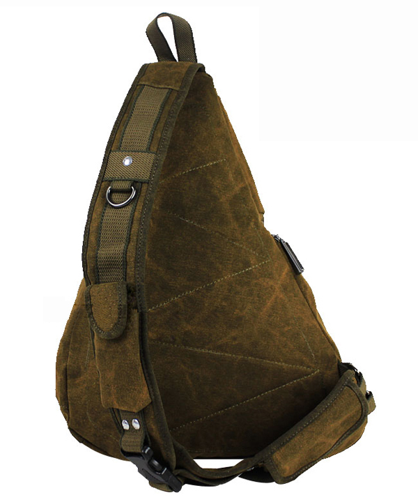 681f6ce182 1pc Brand high quality canvas sling bag messenger bags Black Army coffee  6029 Free shipping-in Crossbody Bags from Luggage   Bags on Aliexpress.com  ...