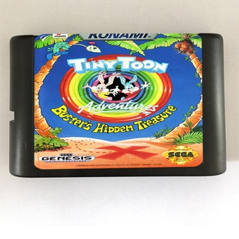 Tiny Toon Adventures - 16 bit MD Games Cartridge For MegaDrive Genesis console