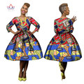 African Dresses for Women 2017 Dashiki African Women Dresses Casual Long Sleeve A-Line Dress  Plus Size African Clothing WY623