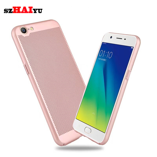 arrives 980ad 399aa US $3.76  szHAIyu For OPPO A57 Phone Cover Ultra Thin Protective Hard Back  Cover and Thermal hole Design For OPPO A57 Phone Case-in Fitted Cases from  ...