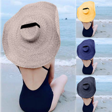 Wide Brim Sun Beach  Foldable Hat
