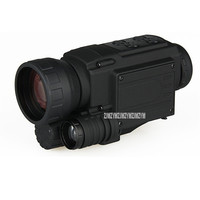4.5x50 Waterproof IR Infrared Digital Night Vision Monocular Telescope Built in Camera Take Photo Record Video Support Day/Night
