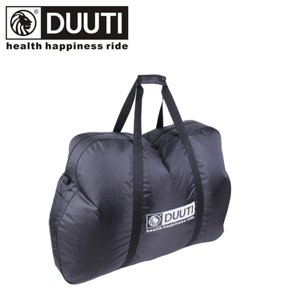 DUUTI 26 inches Bicycle Bag Foldable Bike Transport Bag for Travel Case Carrier Waterproof Cycling MTB Mountain Road Cover Bags wheel up bicycle rear seat trunk bag full waterproof big capacity 27l mtb road bike rear bag tail seat panniers cycling touring
