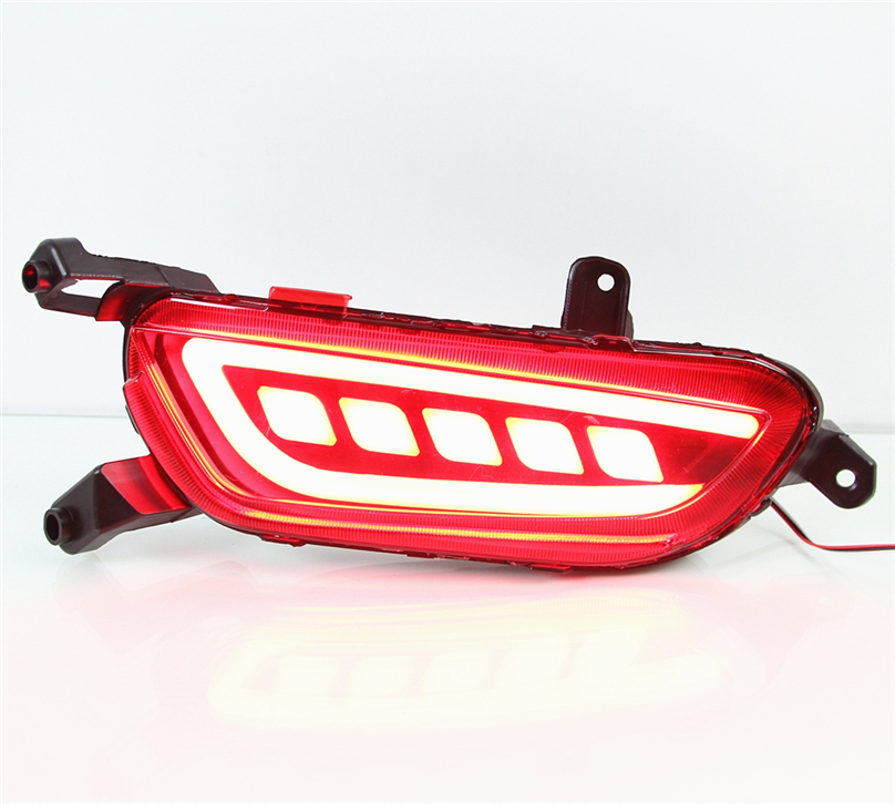 Car Flashing 2 pcs for mazda cx 3 cx3 cx 3 2016 2017 LED DRL Rear