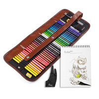 Marco 36 Color Drawing Pencil Set Non Toxic Oil Based Artist Sketch Color Pencil A4 Sketchbook