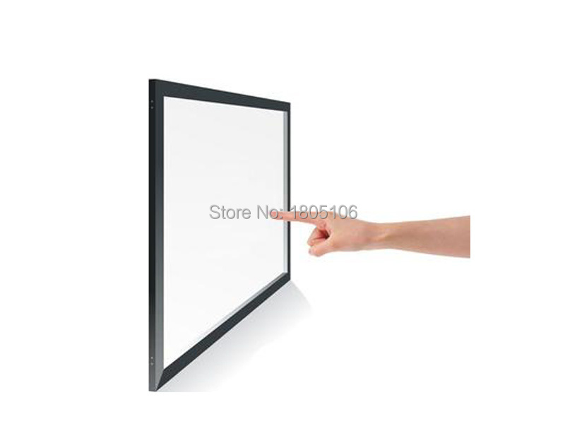 22 inch 2 points IR touch screen / IR touch panel for touch table, kiosk etc 32 inch high definition 2 points multi touch screen panel ir multi touch screen overlay for touch table kiosk etc