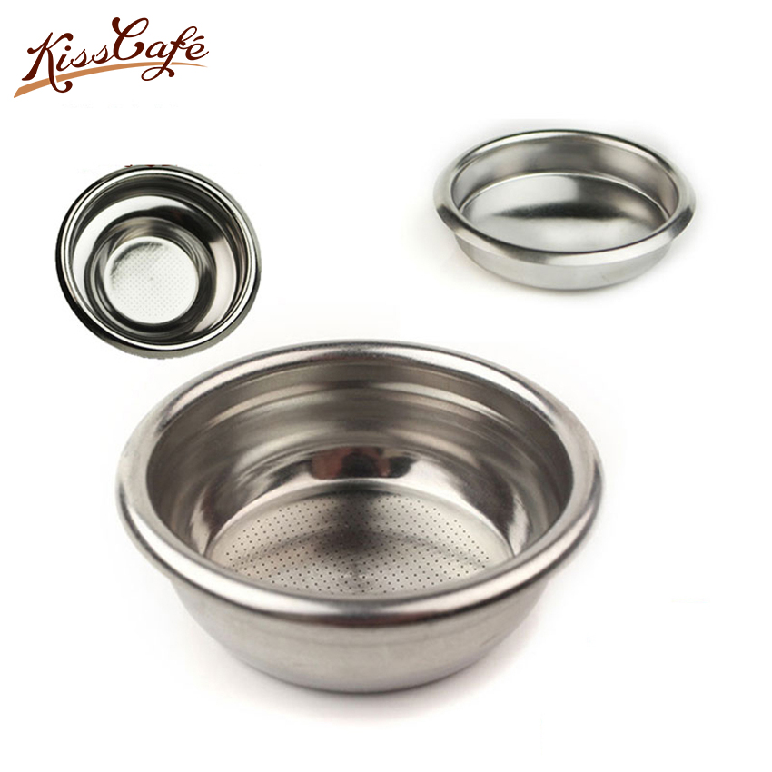 58mm Coffee Machine Handle Single/Double Blind Bowl Grinder Powder Semi-automatic Coffee Machine Reusable Accessory For Cleaning