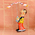 Espectáculo de circo Hombre Juguetes de Cuerda Clásico Espectáculo de Circo Hombres Robot Juguetes Adultos Colección Juguetes Artesanales