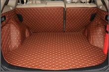 Хорошее качество! специальная магистральных коврики для honda cr-v 2016 прочный водонепроницаемый загрузки грузового лайнера ковров для crv 2015-2012, бесплатная доставка