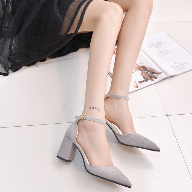Shoes Woman 2016 New High Heels Ladies Pumps Sexy Thin Air Heels Footwear Woman Shoes zapatillas mujer sapato feminino chaussure