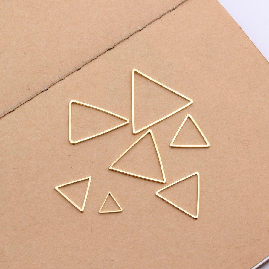 10 Stücke Gold/weiß K Diy Ohrringe, Die Entdeckungen Anschlüsse Ohrring Anhänger Armband, Zubehör Für Schmuck Großhandel RegelmäßIges TeegeträNk Verbessert Ihre Gesundheit