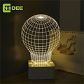 CNHIDEE 3D Abajur Bed Room Engraved Led Bulb Night Light Shadeless Desk Lamps as Creative Gifts