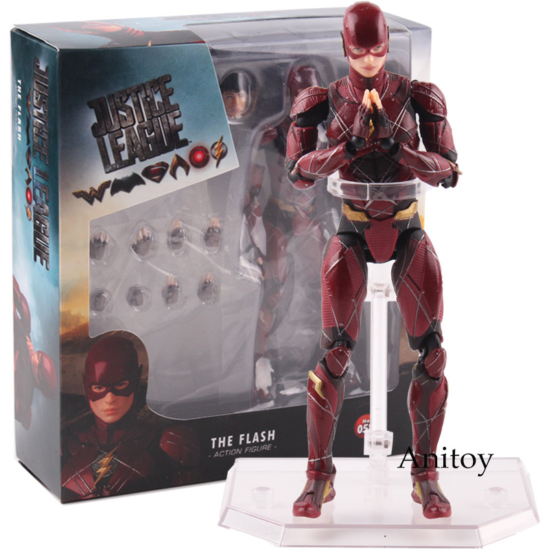 MAFEX MEDICOM TOY No.058 DC Comics Justice League The Flash Action Figure PVC Collectible Model Toy 16cm платье milana style milana style mi038ewxjv28