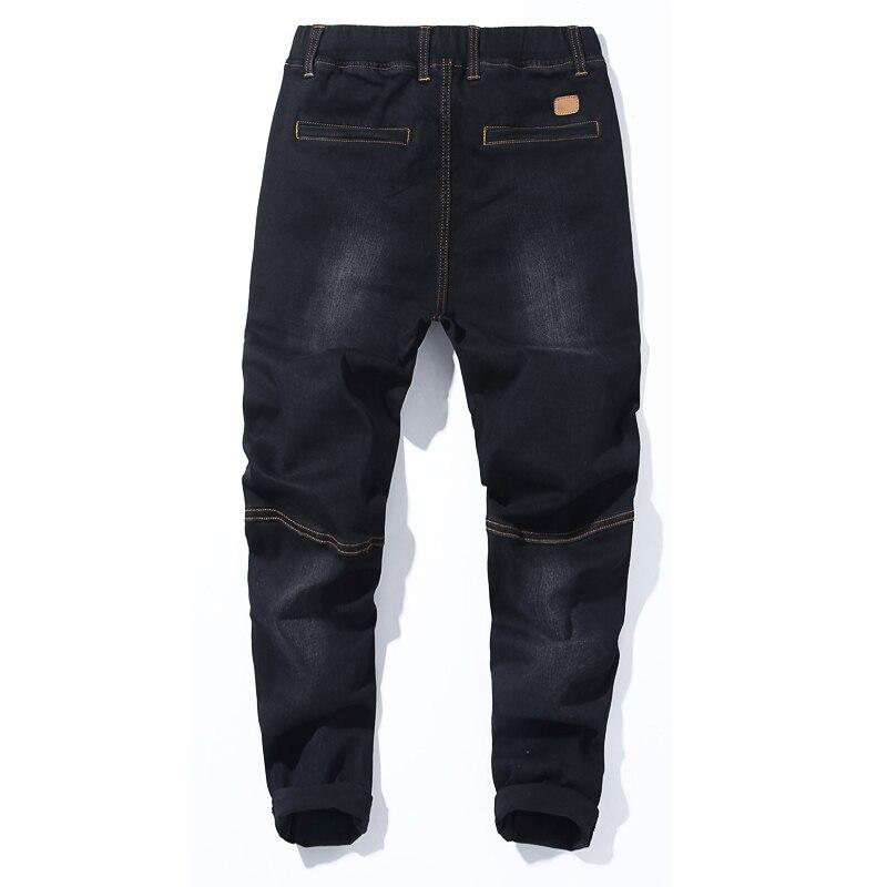 Image 4 - 2018 סתיו חדש של גברים בתוספת גודל ג ינס אופנה מזדמן היפ הופ רופף שחור כחול מכנסיים הרמון מכנסיים 5XL 6XL 7XL-בגינס מתוך ביגוד לגברים באתר