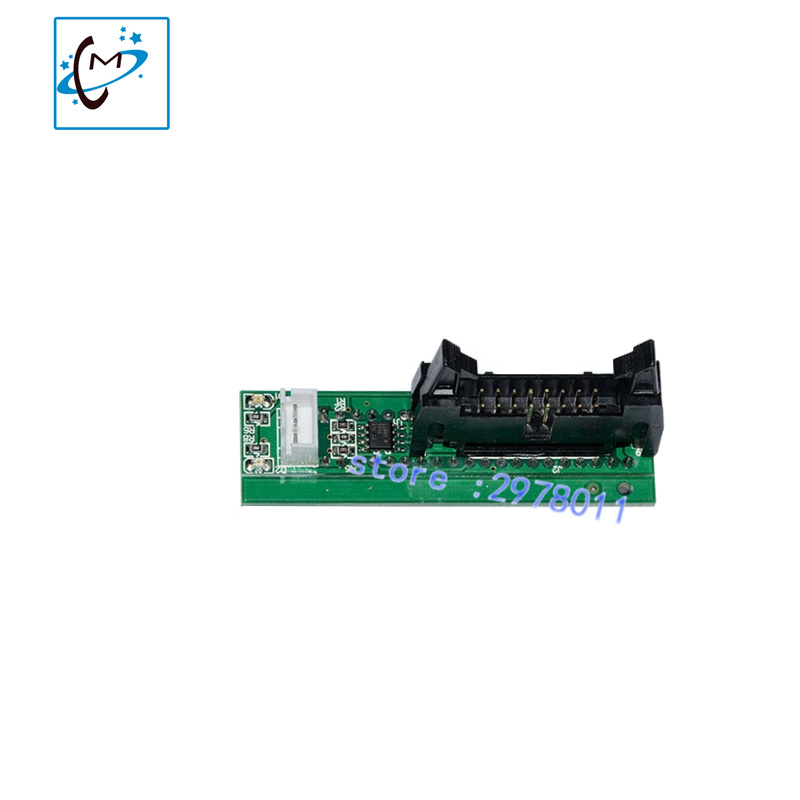 Outdoor inkjet printer Flora LJ320P LJ3208P printer printhead connector card with Polaris 512/15pl head mini transfer board V1.3