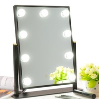 BEAUTMEI New Professional LED Bulb Hollywood With Dimmer Stage Beauty Vanity Mirror With Lights For Gift
