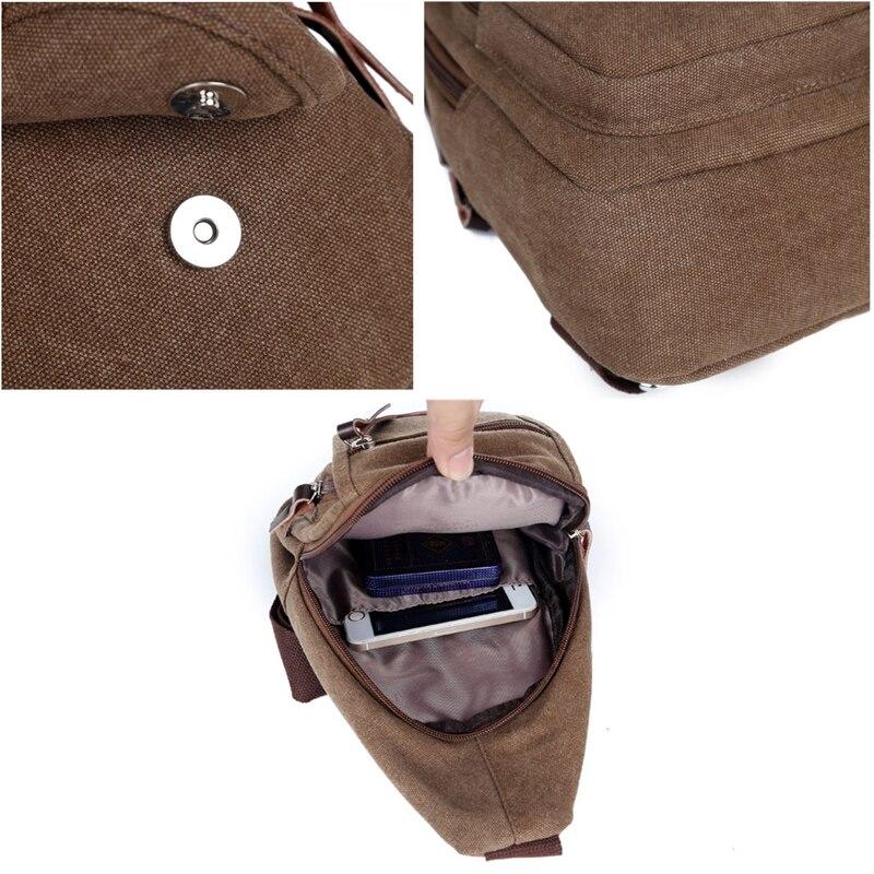 Nova torba za remen Platno grudi za muškarce Muške vrećice za - Torbe - Foto 3