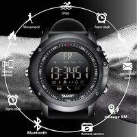 BANGWEI 2018 New Men Digital Electronic Watch Call Information Reminder 50 Meters Depth Waterproof Sport Pedometer Smart Watch