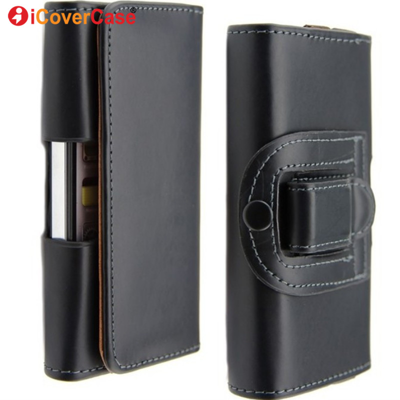 For iPhone SE Cover Pouch Bag Belt Clip Wallet Case Phone Accessory