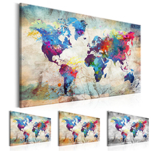 5D DIY Diamond Painting Handicraft Cross StitchColored world mapFull Square Embroidery sale of pictures Decor Z256
