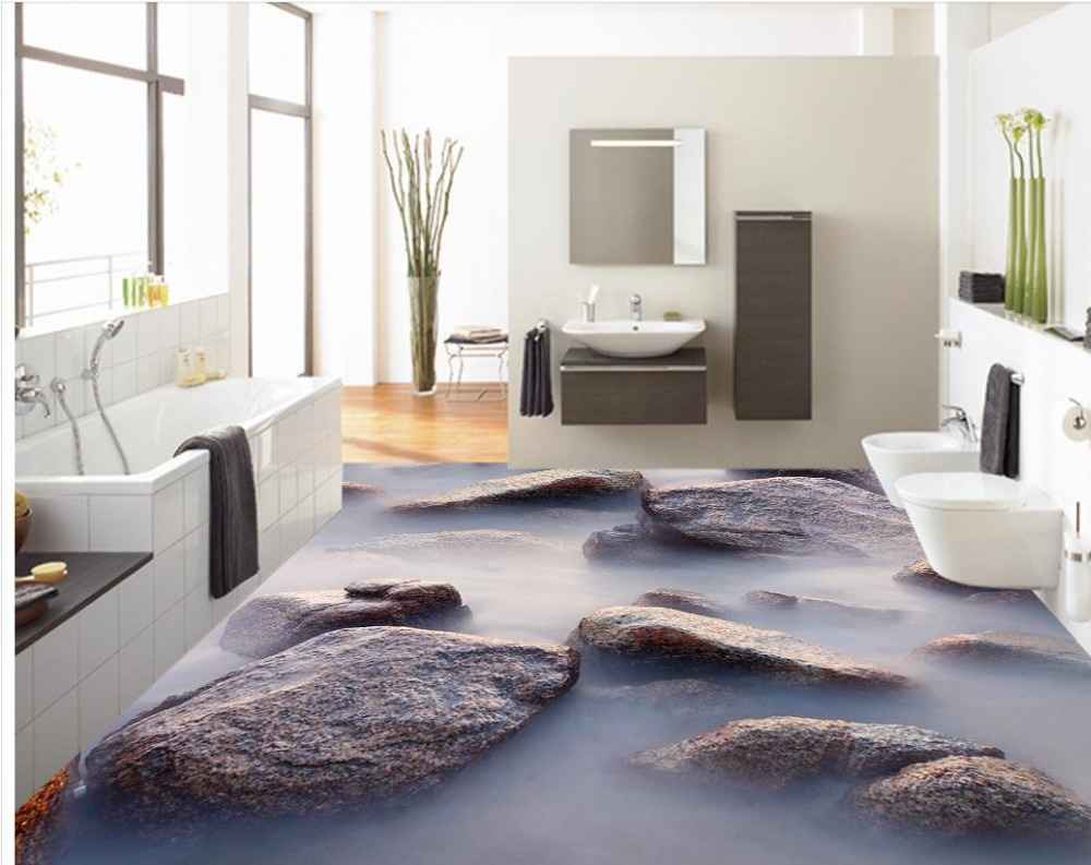 3d Pvc Fußboden ~ D boden badezimmer d boden badezimmer bodenbelag fürs bad