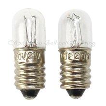 Отлично! 1000 Picecs/серия E10 T10x28 220 В 2 Вт миниатюрный лампы свет A159