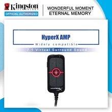 Kingston HyperX AMP7.1 Virtuelle Surround Sound Spiel Soundkarte Fernbedienung Eingebaute DPS Soundkarte AMP