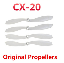 Original Propeller for Cheerson CX20 RC GPS Quadcopter Original Cheerson CX20 CX-20 Parts Blades CX-20-018