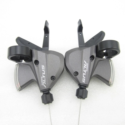 Shimano Altus SL-M370 3x9-Speed Left and Right Shifter Trigger Set inner Cable